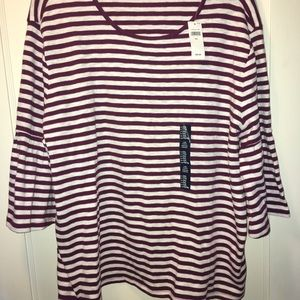 Gap bell sleeve top. New with tags!